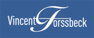 Mäklarfirman Vincent Forssbeck logo