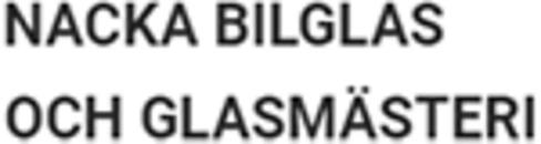 Nacka Bilglas & Glasmästeri logo