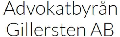 Advokatbyrån Gillersten AB logo