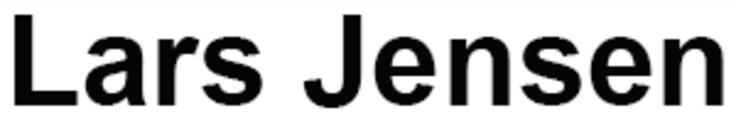 Lars Jensen logo