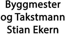 Byggmester og Takstmann Stian Ekern logo