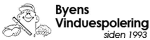 Byens Vinduespolering logo