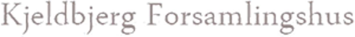 Kjeldbjerg Forsamlingshus logo
