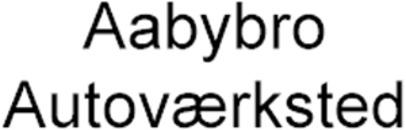 Aabybro Autoværksted logo