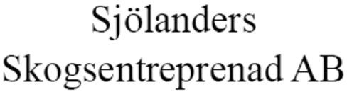 Sjölanders Skogsentreprenad AB logo