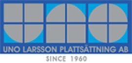 Uno Larsson Plattsättning AB logo