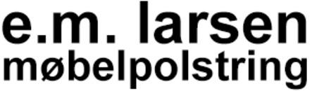 e. m. larsen møbelpolstring logo