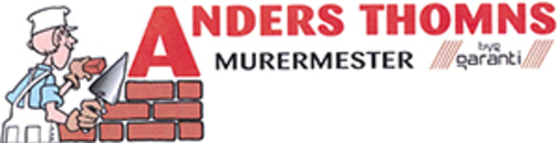 Murermester Anders Thomns logo