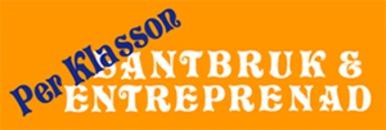 Per Klasson Lantbruk & Entreprenad logo