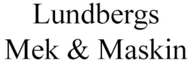 Lundbergs Mek & Maskin logo