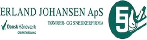 Tømrer- og Snedkerfirma Erland Johansen ApS logo