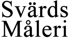 Svärds Måleri logo