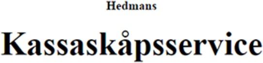 Hedmans Kassaskåpsservice AB logo