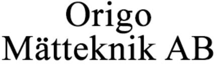 Origo Mätteknik AB logo