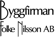 Byggfirman Folke Nilsson logo