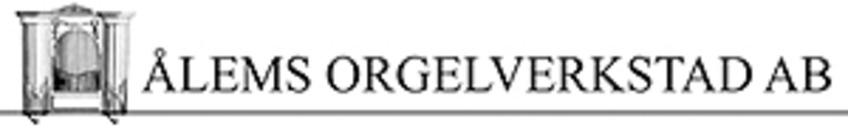 Ålems Orgelverkstad AB logo