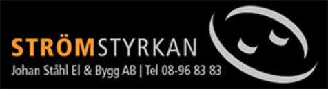 Strömstyrkan Johan Ståhl El & Bygg AB logo