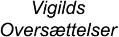 Vigilds Oversættelser v/Eva Vigild logo