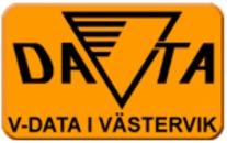 V-DATA i Västervik logo