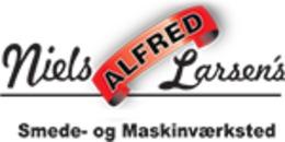 Niels Alfred Larsen Smede- og  Maskinværksted logo
