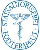Stats aut. fodterapeut Birgitte Søndergaard logo