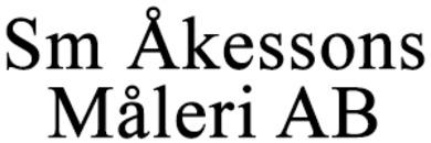 SM Åkessons Måleri AB logo