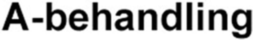A-Behandling logo