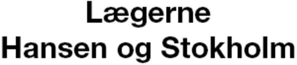 Lægerne Hansen og Stokholm logo