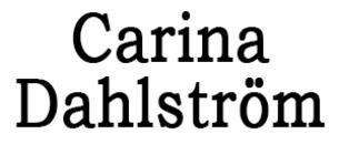 Carina Dahlström logo