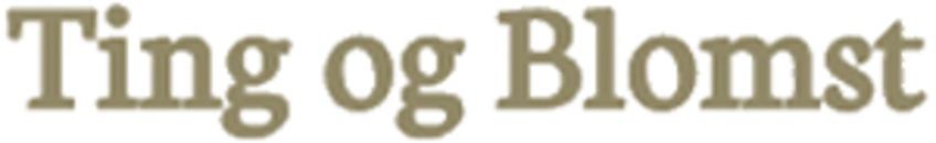 Ting og Blomst logo
