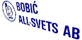 Bobic All-Svets, Ilija logo