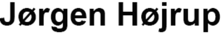 Jørgen Højrup logo