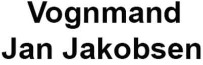 Vognmand Jan Jakobsen logo