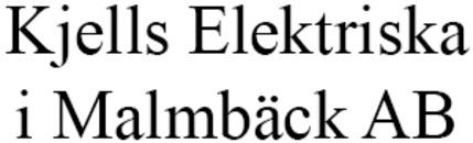 Kjells Elektriska i Malmbäck AB logo