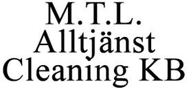 M T L Alltjänst Cleaning KB logo