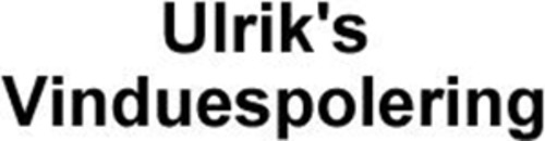 Ulrik's Vinduespolering logo
