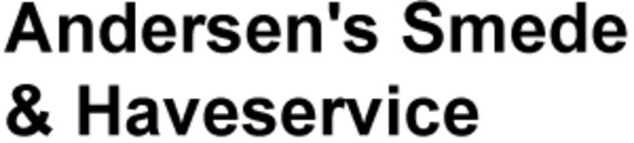 Andersen's Smede & Haveservice logo