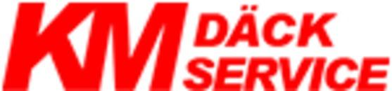 KM Däckservice AB logo