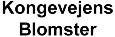 Kongevejens Blomster logo
