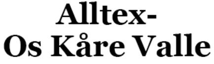 Alltex- Os Kåre Valle logo