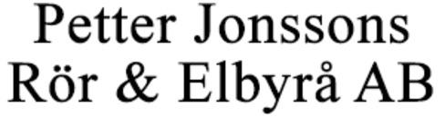 Petter Jonssons Rör & Elbyrå AB logo