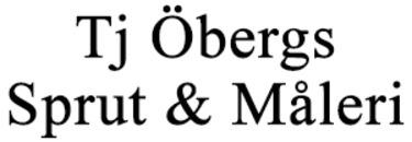 Tj Öbergs Sprut & Måleri HB logo