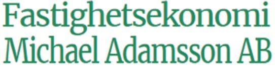 Fastighetsekonomi Michael Adamsson AB logo