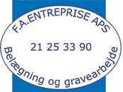 F. A. Entreprise ApS v/ Finn Andreasen logo