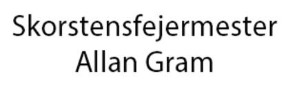 Skorstensfejermester Allan Gram logo