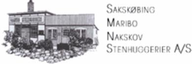 Sakskøbing-Maribo-Nakskov-Nykøbing F Stenhuggerier A/S logo