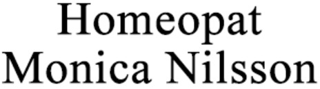 Homeopat Monica Nilsson logo