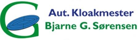 Autoriseret kloakmester Bjarne G. Sørensen ApS logo