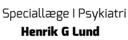 Speciallæge i Psykiatri Henrik G. Lund logo
