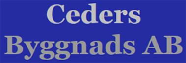 Ceders Byggnads AB logo
